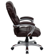 Aristocraft Series III Brown Leather Executive Chair-16157