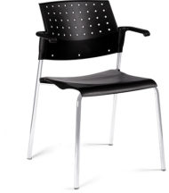 Global Sonic Stacking Armchair