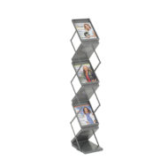 Double Sided Folding Literature Display