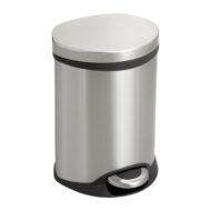 1.5 Gallon Ellipse Step-On Receptacle Side View