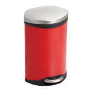 3 Gallon Ellipse Step-On Receptacle front view