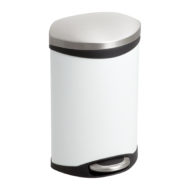 3 Gallon Ellipse Step-On Receptacle side view