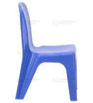 Blue Plastic Stackable School Chair with Carrying Handle and 11'' Seat Height -18446