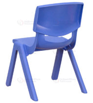 Blue Plastic Stackable School Chair with 10.5'' Seat Height -14208