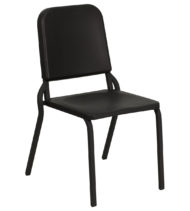 HERCULES Series Black High Density Stackable Melody Band/Music Chair -0