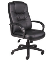 Boss Executive High Back Leather Chair-0