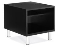 Global Total Office Citi End Table with Laminate Top - Black