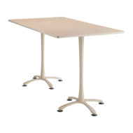 Cha-cha Rectangle top, 72 x 42 Bistro Height