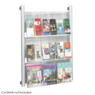 Luxe Magazine and Pamphlet Rack - 9 pocket